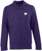 Antigua Men's Kansas State Wildcats Signature Full-Zip Fleece Hoodie