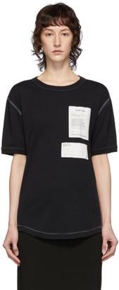 Helmut Lang Black Patches T-Shirt