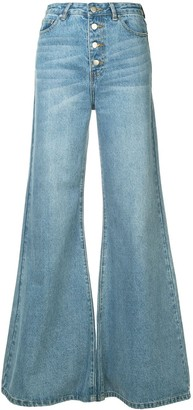 Georgia Alice Wide Leg Jeans