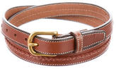Michael Bastian Skinny Leather Belt