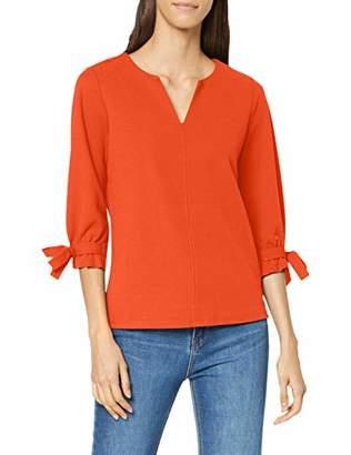 Garcia Women's GS900703 Blouse, (Red Orange 20), (Size: S)