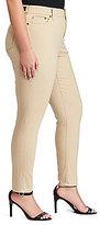 Lauren Ralph Lauren Plus Premier Skinny Crop Jean
