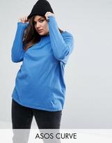 Asos Ultimate Long Sleeved Tunic Oversized T-Shirt