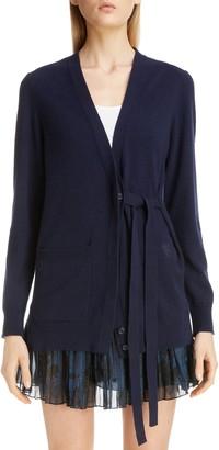 Chloé Cashmere Tie Cardigan
