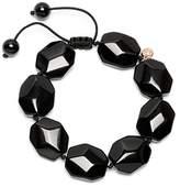 Lola Rose Tasha Black Agate Bracelet