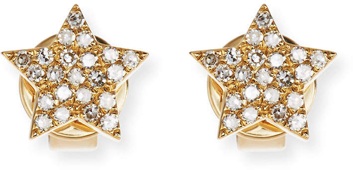 61d1b85cc Gold Star Stud Earrings - ShopStyle