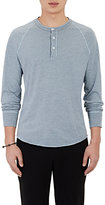 Barneys New York MEN'S JERSEY HENLEY