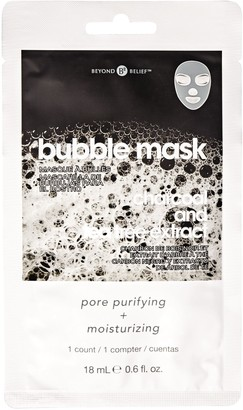 Beyond Belief Charcoal Bubble Facial Mask