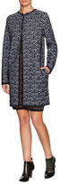 M Missoni Wool Intarsia Midi Coat
