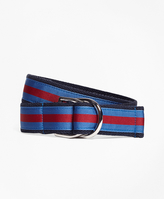 Brooks Brothers Stripe Ribbon Belt