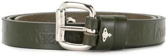 Vivienne Westwood Buckle-Fastening Studded Leather Belt