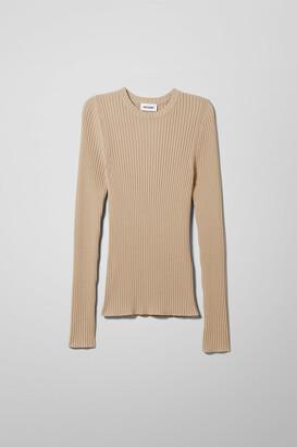 Weekday Thalia Sweater - Beige