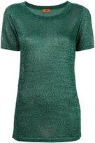 Missoni shortsleeved sweater - women - Polyester/Cupro/Viscose - 44