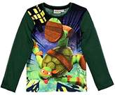 Generic TMNT Official Teenage Mutant Ninja Turtles Long Sleeve T-Shirt Top Ages 2-8