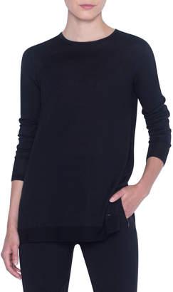 Akris Cashmere-Silk Basic Sweater
