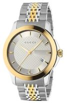 Gucci G-Timeless Collection Watch/Stainless Steel & Gold PVD