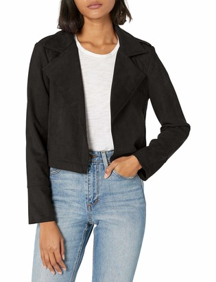 Jack by BB Dakota Women's Faux Suede Moto Jacket