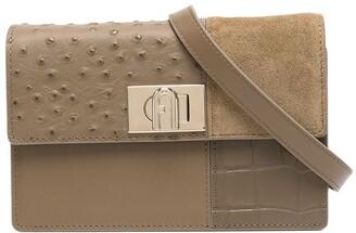 Furla Panelled Leather Crossbody Bag