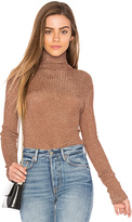 Tibi Turtleneck in Metallic Copper. - size XS (also in )