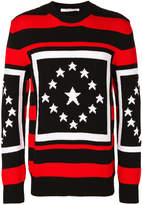 Givenchy contrast knitted sweater