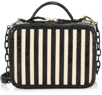 Nancy Gonzalez Tina Craig X Box Crocodile Leather Crossbody Bag