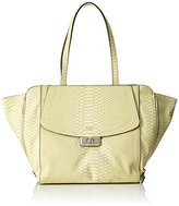 GUESS Women's Kingsley Shoulder Bag yellow