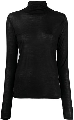 Base Range rollneck long-sleeve bamboo T-shirt