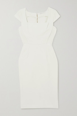 Roland Mouret Jeddler Stretch-crepe Dress - White