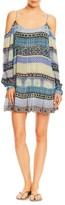 Nicole Miller Mosaic Stripe Tank Dress