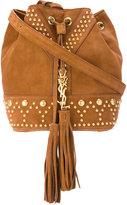 Saint Laurent studded bag - women - Calf Suede - One Size