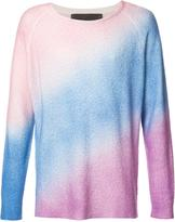 The Elder Statesman crew neck jumper - unisex - Silk/Cashmere - XS