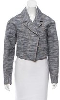 Jason Wu Cropped Notch-Lapel Jacket