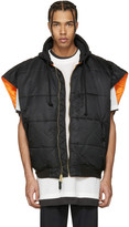 Vetements Reversible Black Alpha Industries Edition Oversized Sleeveless Bomber