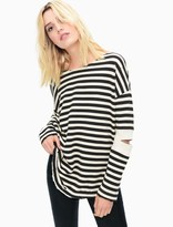 Splendid West Village Stripe Cutout Tunic