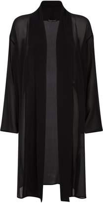 Eileen Fisher Sheer Silk Kimono