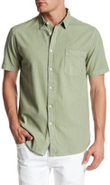 Topman Washed Short Sleeve Shirt