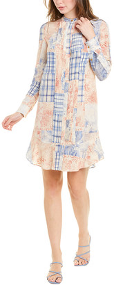 Tory Burch Cora Silk Shift Dress