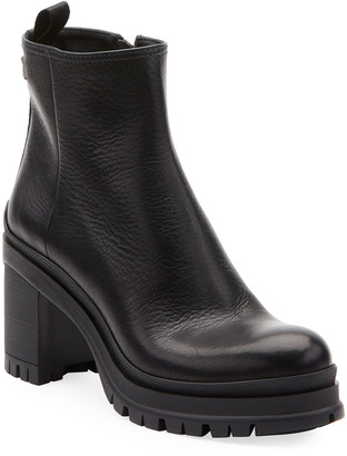 Prada Cervo Lugged Boots