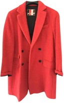 MSGM Pink Wool Coats
