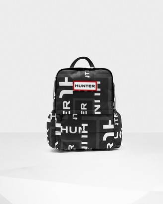Hunter Original Exploded Logo Nylon Backpack