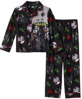 Boys 4-12 Star Wars Darth Vader 2-Piece Flannel Pajamas