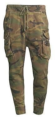 The Kooples Men's Camo Cotton Trousers