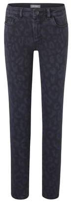 DL1961 Leopard Skinny Jeans