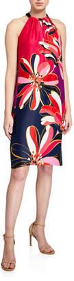 Trina Turk Roe Floral Halter Dress