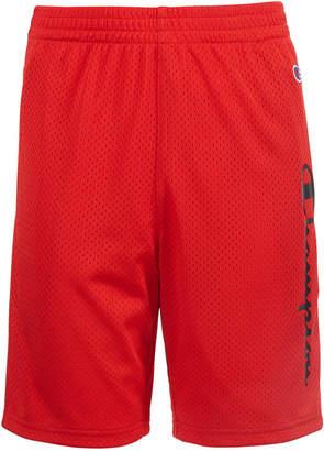 Champion Big Boys Essential Logo Mesh Shorts