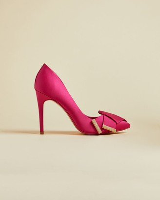 Ted Baker Satin Bow Detail Courts