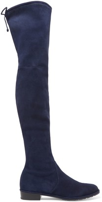 Stuart Weitzman Stretch-suede Over-the-knee Boots