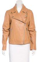 Loeffler Randall Leather Moto Jacket