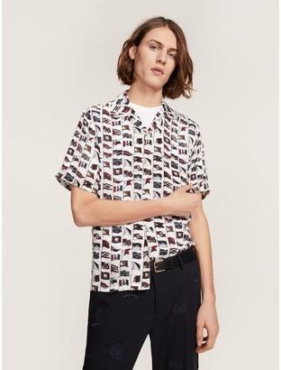 Tommy Hilfiger Flag Print Shirt