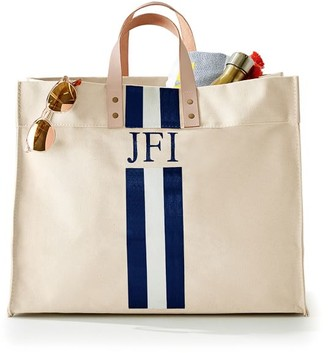 Mark & Graham Hand-Painted Canvas Shopper Tote
